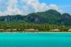 发埃发埃海岛是一普遍的旅游destinatio,甲米府 免版税库存照片
