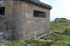 发射孔炮塔海堡垒 免版税库存照片