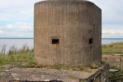 发射孔炮塔海堡垒 免版税库存图片