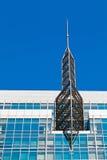 发射机塔细节  库存照片