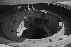 发射矿SS-18撒旦 免版税库存图片