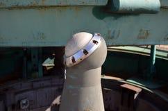 发射矿SS-18撒旦 免版税库存照片
