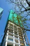 发展亚洲市,高层建筑物 图库摄影