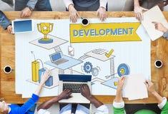 发展改善机会战略成长概念 免版税图库摄影