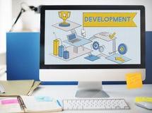发展改善机会战略成长概念 图库摄影
