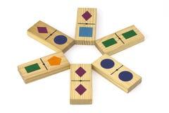 发展木的玩具 免版税库存照片