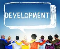 发展进展视觉改善成长概念 库存照片