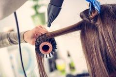 头发干燥 免版税库存图片