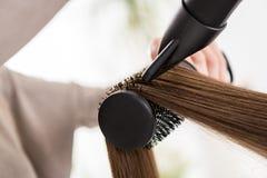 头发干燥 免版税库存照片
