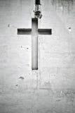 发怒图宗教墙壁 库存图片