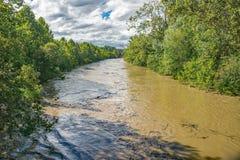 发怒的罗阿诺克河- 3 库存图片