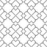 发怒针,无缝的装饰样式 刺绣和编织 几何抽象的背景 种族装饰品 皇族释放例证
