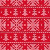 发怒针 庆祝的圣诞节设计例证雪花 装饰模式 图库摄影
