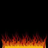 发火焰地狱 免版税库存图片