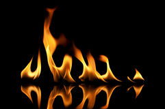 发火焰橙色火焰 图库摄影