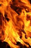 发火焰热 免版税图库摄影