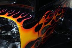 发火焰Hotrod 库存图片