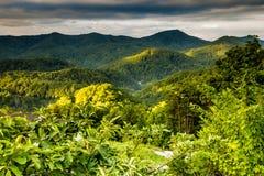 发烟性山国家公园 免版税库存照片