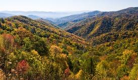 发烟性山的国家公园 免版税库存图片