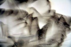 发烟性蜡状的抽象纹理和背景 免版税库存照片
