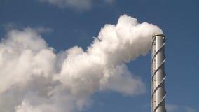 发烟滚滚向前,烟囱,大气污染,能量一代 影视素材
