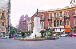 发现开罗的街市 免版税库存照片