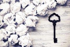 发现成功的钥匙 库存图片