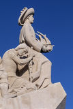 发现的纪念碑-里斯本-葡萄牙 库存照片