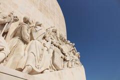 发现纪念碑在里斯本 免版税库存图片