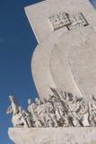 发现纪念碑 免版税库存照片