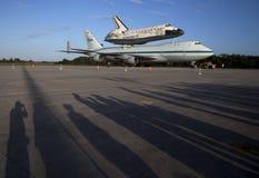 发现航天飞机空间 免版税库存图片