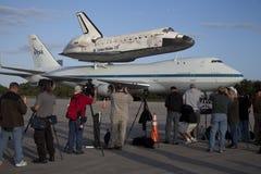发现航天飞机空间 库存图片