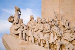 发现里斯本纪念碑海运 库存图片