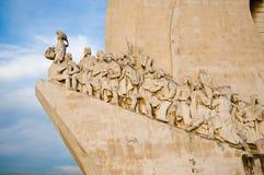 发现里斯本纪念碑海运 免版税库存图片