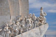 发现里斯本纪念碑 免版税库存照片