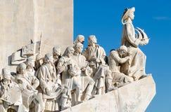 发现里斯本纪念碑 免版税库存图片