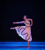 发现轻差事入迷宫现代舞蹈舞蹈动作设计者玛莎・葛兰姆 免版税库存图片
