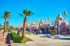 发现Sharm El谢赫,埃及市场  免版税库存照片