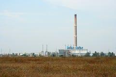 发电厂基础设施 库存照片