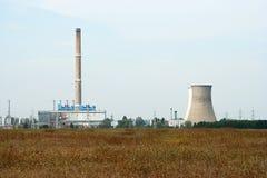 发电厂 免版税库存图片