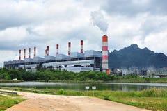 发电厂 免版税库存照片