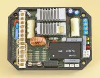 发电器AVR管理者 免版税库存照片