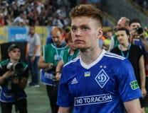发电机球员由乌克兰决赛的失败是生气 免版税库存图片