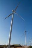 发电的风轮机的力量 库存照片