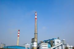发电站上升暖流 免版税库存图片