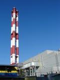 发电站上升暖流 免版税库存照片