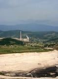 发电站在普列夫利亚 免版税库存照片