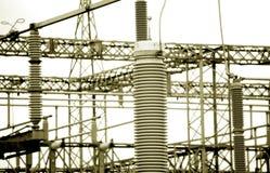 发电站 免版税库存图片