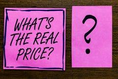 发短信给标志陈列什么s是真实的价格问题 概念性照片给物产或企业紫罗兰色颜色黑色的实际价值 库存图片