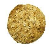 发芽的全部的谷物小圆面包 库存照片